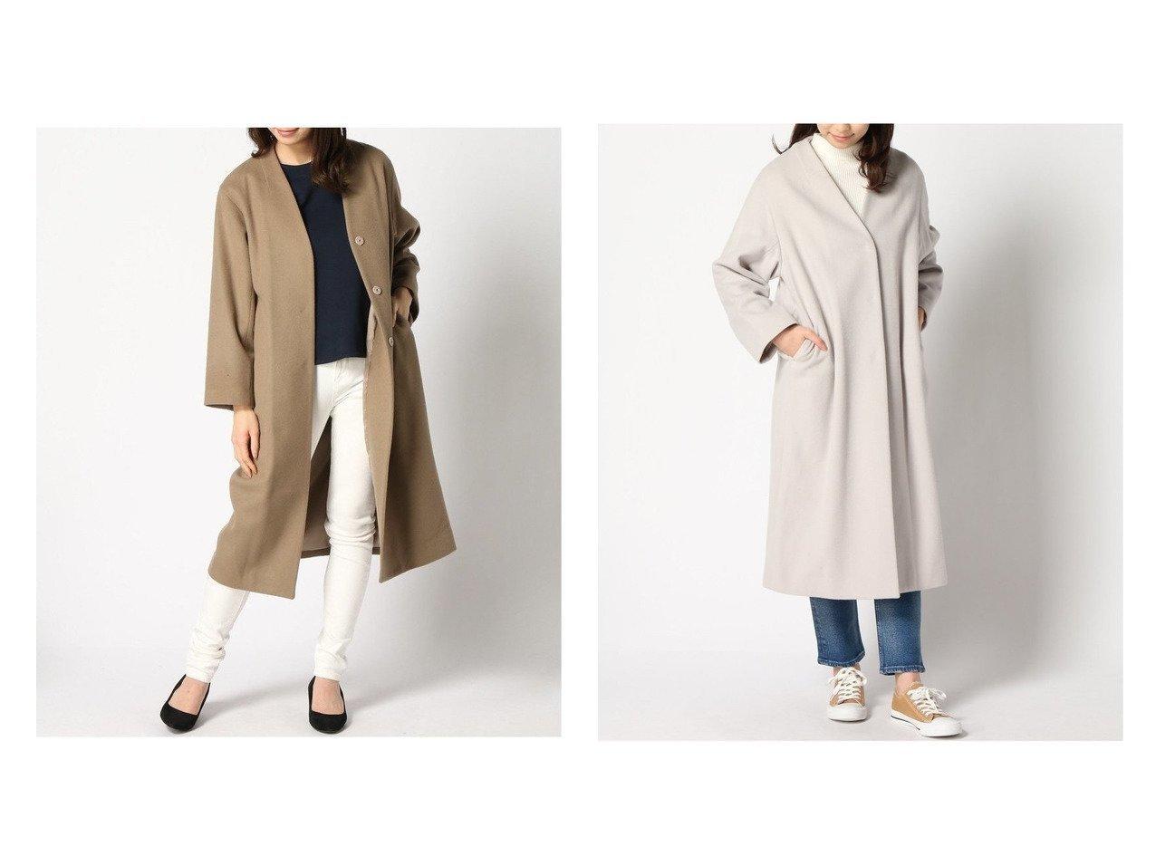 【JOURNAL STANDARD relume/ジャーナルスタンダード レリューム】のBISHU ノーカラー COAT JOURNAL STANDARDのおすすめ!人気、トレンド・レディースファッションの通販  おすすめで人気の流行・トレンド、ファッションの通販商品 メンズファッション・キッズファッション・インテリア・家具・レディースファッション・服の通販 founy(ファニー) https://founy.com/ ファッション Fashion レディースファッション WOMEN アウター Coat Outerwear コート Coats ジャケット Jackets ノーカラージャケット No Collar Leather Jackets イレギュラー インナー シンプル ジャケット A/W 秋冬 AW Autumn/Winter / FW Fall-Winter 2020年 2020 2020-2021 秋冬 A/W AW Autumn/Winter / FW Fall-Winter 2020-2021 NEW・新作・新着・新入荷 New Arrivals |ID:crp329100000017518
