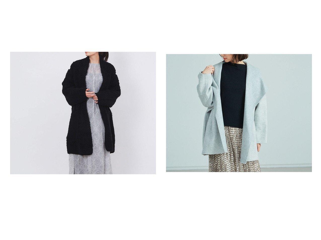 【Rouge vif la cle/ルージュヴィフラクレ】の【BRAHMIN】リバーコート&【venit】パイルニットカーディガン Rouge vif la cleのおすすめ!人気、トレンド・レディースファッションの通販  おすすめで人気の流行・トレンド、ファッションの通販商品 メンズファッション・キッズファッション・インテリア・家具・レディースファッション・服の通販 founy(ファニー) https://founy.com/ ファッション Fashion レディースファッション WOMEN トップス Tops Tshirt ニット Knit Tops カーディガン Cardigans アウター Coat Outerwear コート Coats アクリル ムートン リラックス A/W 秋冬 AW Autumn/Winter / FW Fall-Winter 2020年 2020 2020-2021 秋冬 A/W AW Autumn/Winter / FW Fall-Winter 2020-2021 エアリー  ID:crp329100000017626