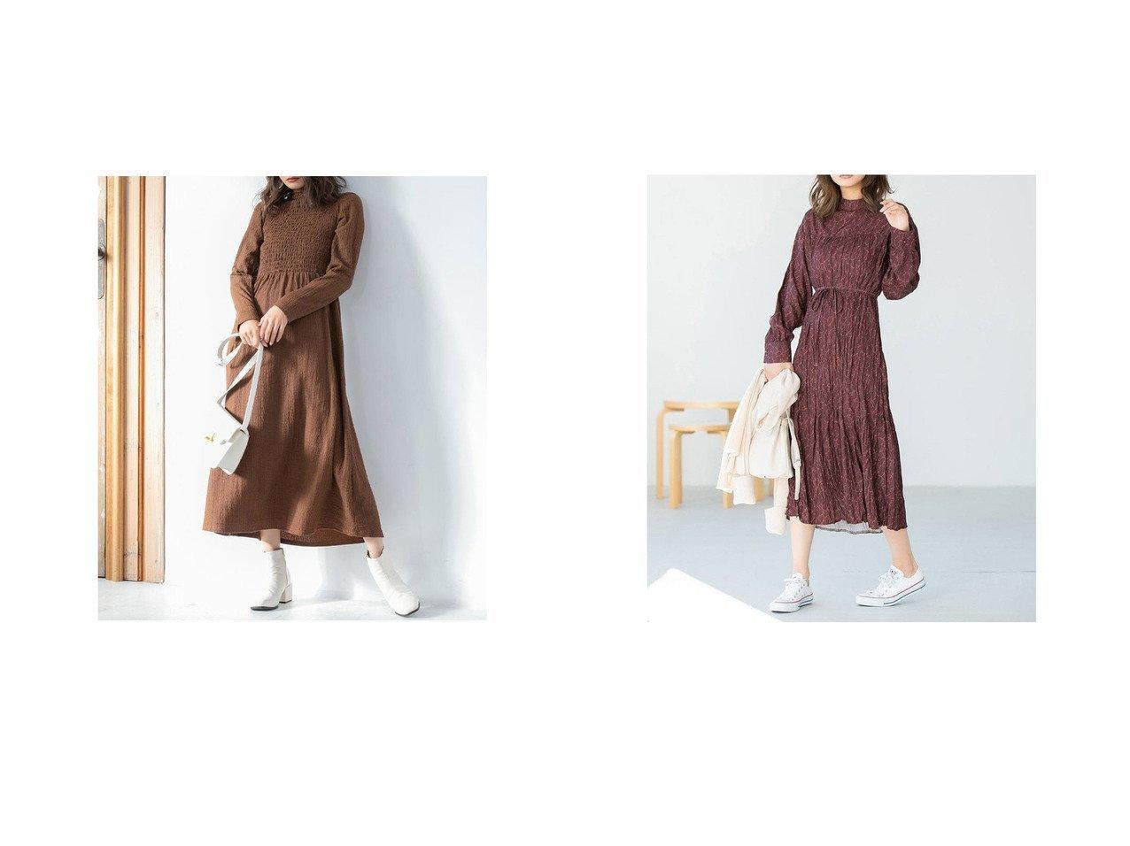 【fifth/フィフス】のフロントシャーリング切り替えワンピース&スタンドカラーワッシャープリーツワンピース fifthのおすすめ!人気、トレンド・レディースファッションの通販  おすすめで人気の流行・トレンド、ファッションの通販商品 メンズファッション・キッズファッション・インテリア・家具・レディースファッション・服の通販 founy(ファニー) https://founy.com/ ファッション Fashion レディースファッション WOMEN ワンピース Dress 2021年 2021 2021 春夏 S/S SS Spring/Summer 2021 S/S 春夏 SS Spring/Summer シャーリング スマート フェミニン フレア フロント 春 Spring |ID:crp329100000017635