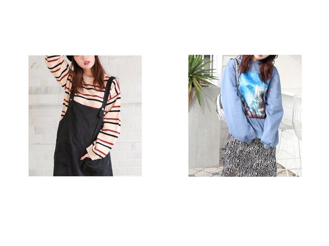 【fifth/フィフス】のカジュアルボーダーニット&ボリュームフォトパーカー fifthのおすすめ!人気、トレンド・レディースファッションの通販  おすすめで人気の流行・トレンド、ファッションの通販商品 メンズファッション・キッズファッション・インテリア・家具・レディースファッション・服の通販 founy(ファニー) https://founy.com/ ファッション Fashion レディースファッション WOMEN トップス Tops Tshirt ニット Knit Tops パーカ Sweats 2021年 2021 2021 春夏 S/S SS Spring/Summer 2021 S/S 春夏 SS Spring/Summer カラフル シンプル スマート ボトム ボーダー 春 Spring |ID:crp329100000017651