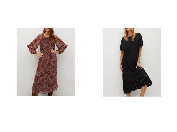 【MANGO/マンゴ】のロングワンピース .-- NURIA&ロングワンピース .-- JAKE-A MANGOのおすすめ!人気、トレンド・レディースファッションの通販  おすすめファッション通販アイテム レディースファッション・服の通販 founy(ファニー) ファッション Fashion レディースファッション WOMEN ワンピース Dress 2021年 2021 2021 春夏 S/S SS Spring/Summer 2021 S/S 春夏 SS Spring/Summer エアリー フレア ラウンド ロング 春 Spring ストレート 半袖 透かし |ID:crp329100000017702