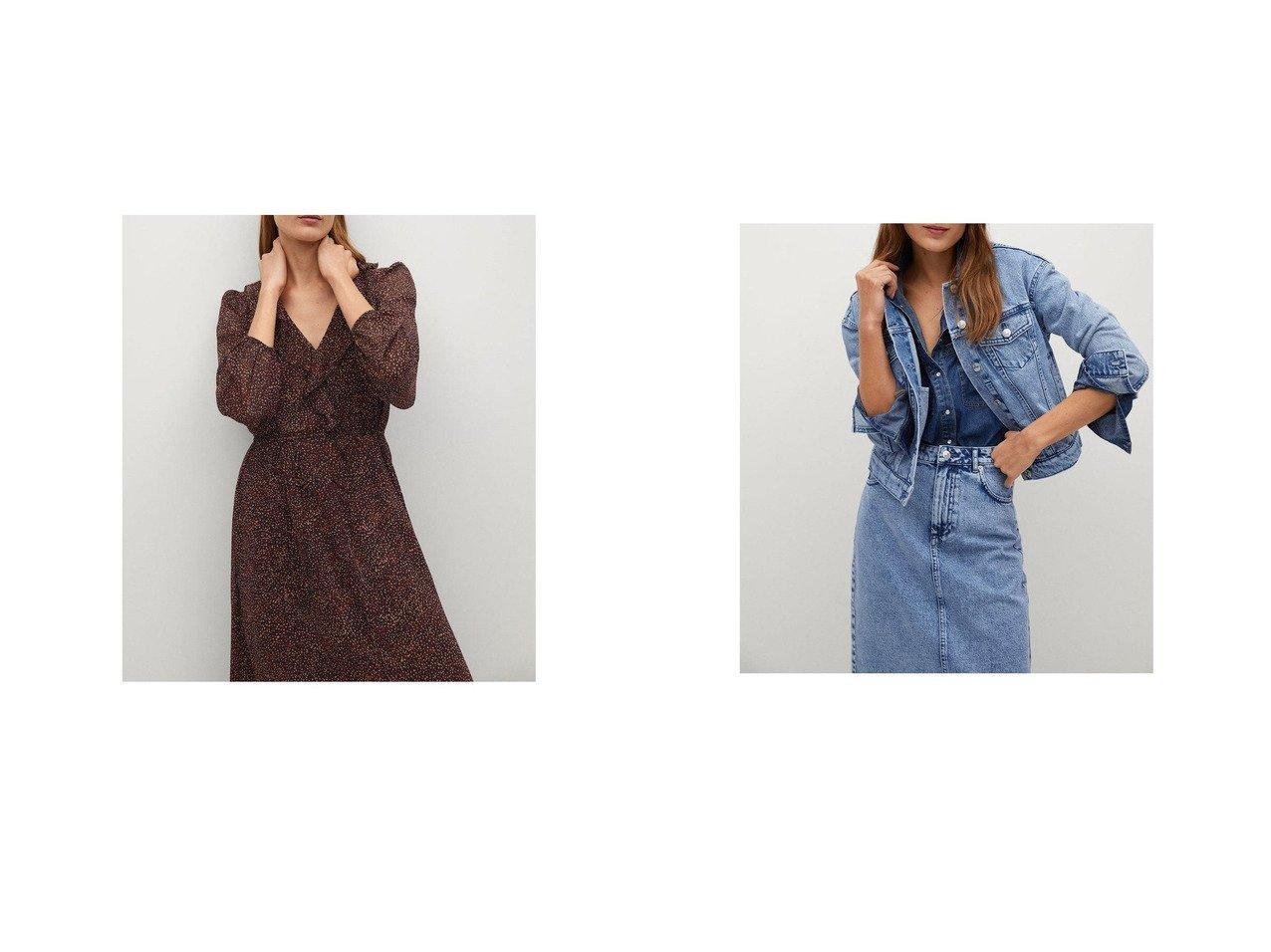 【MANGO/マンゴ】のロングワンピース .-- CANDY&ジャケット .-- MONI MANGOのおすすめ!人気、トレンド・レディースファッションの通販  おすすめで人気の流行・トレンド、ファッションの通販商品 メンズファッション・キッズファッション・インテリア・家具・レディースファッション・服の通販 founy(ファニー) https://founy.com/ ファッション Fashion レディースファッション WOMEN ワンピース Dress アウター Coat Outerwear ジャケット Jackets 2021年 2021 2021 春夏 S/S SS Spring/Summer 2021 S/S 春夏 SS Spring/Summer エアリー フレア プリント ロング 春 Spring 長袖 |ID:crp329100000017706