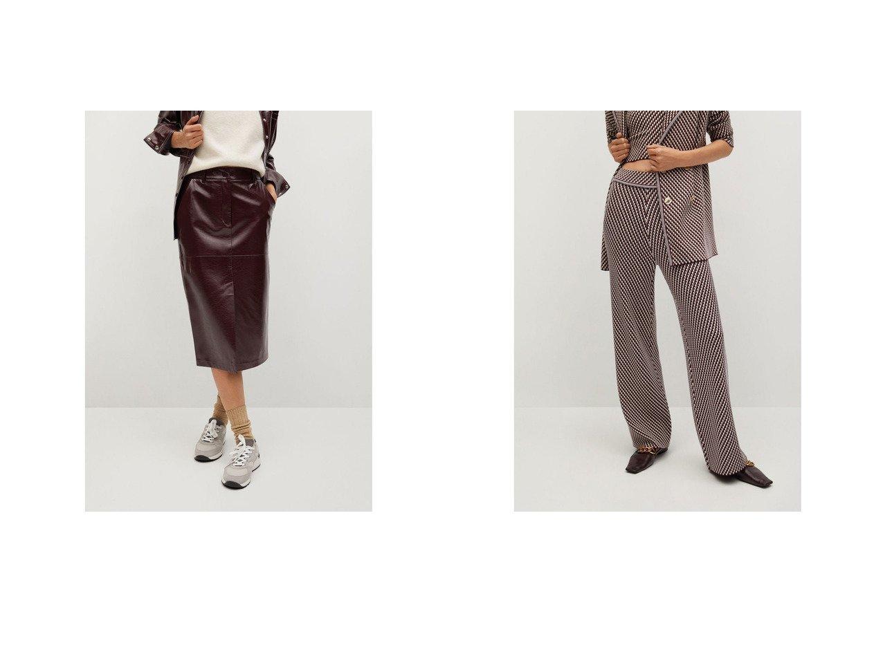 【MANGO/マンゴ】のパンツ .-- ABEILLE&ロングスカート .-- BOLI MANGOのおすすめ!人気、トレンド・レディースファッションの通販  おすすめで人気の流行・トレンド、ファッションの通販商品 メンズファッション・キッズファッション・インテリア・家具・レディースファッション・服の通販 founy(ファニー) https://founy.com/ ファッション Fashion レディースファッション WOMEN スカート Skirt ロングスカート Long Skirt パンツ Pants 2021年 2021 2021 春夏 S/S SS Spring/Summer 2021 S/S 春夏 SS Spring/Summer スリット ハイライズ ペンシル ポケット モチーフ ループ ロング 春 Spring |ID:crp329100000017707