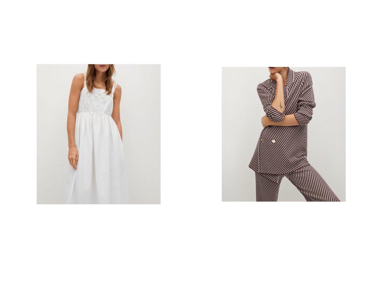 【MANGO/マンゴ】のロングワンピース .-- PERLA-H&カーディガン .-- ABEILLE MANGOのおすすめ!人気、トレンド・レディースファッションの通販  おすすめで人気の流行・トレンド、ファッションの通販商品 メンズファッション・キッズファッション・インテリア・家具・レディースファッション・服の通販 founy(ファニー) https://founy.com/ ファッション Fashion レディースファッション WOMEN ワンピース Dress トップス Tops Tshirt カーディガン Cardigans 2021年 2021 2021 春夏 S/S SS Spring/Summer 2021 S/S 春夏 SS Spring/Summer スクエア フレア ロング 春 Spring 透かし カーディガン 長袖 |ID:crp329100000017710