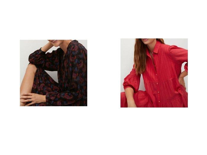 【MANGO/マンゴ】のロングワンピース .-- CALVIN&ロングワンピース .-- LOVER-A MANGOのおすすめ!人気、トレンド・レディースファッションの通販  おすすめファッション通販アイテム レディースファッション・服の通販 founy(ファニー) ファッション Fashion レディースファッション WOMEN ワンピース Dress 2021年 2021 2021 春夏 S/S SS Spring/Summer 2021 S/S 春夏 SS Spring/Summer エアリー ドローストリング フレア フロント ペイズリー ロング 春 Spring クラシック 長袖 |ID:crp329100000017713