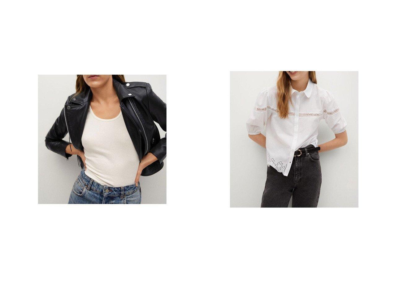 【MANGO/マンゴ】のクロップドジャケット .-- PERFECT&ブラウス .-- DUCKY-H MANGOのおすすめ!人気、トレンド・レディースファッションの通販  おすすめで人気の流行・トレンド、ファッションの通販商品 メンズファッション・キッズファッション・インテリア・家具・レディースファッション・服の通販 founy(ファニー) https://founy.com/ ファッション Fashion レディースファッション WOMEN アウター Coat Outerwear ジャケット Jackets トップス Tops Tshirt シャツ/ブラウス Shirts Blouses 2021年 2021 2021 春夏 S/S SS Spring/Summer 2021 S/S 春夏 SS Spring/Summer 春 Spring 長袖 フロント 半袖 透かし |ID:crp329100000017715