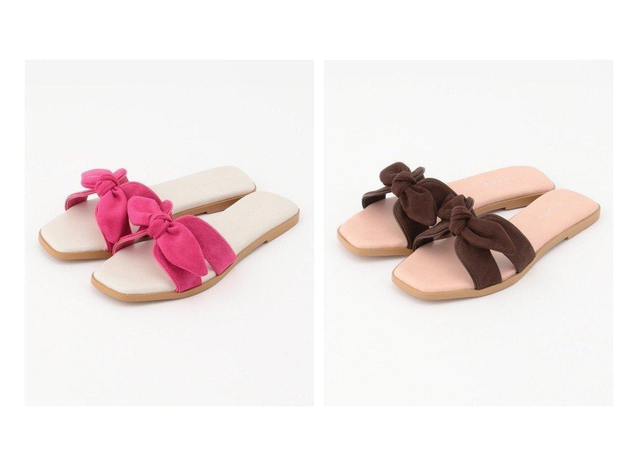 【TOCCA/トッカ】の【TOCCA LAVENDER】Flat sandals フラットサンダル TOCCAのおすすめ!人気、トレンド・レディースファッションの通販  おすすめで人気の流行・トレンド、ファッションの通販商品 メンズファッション・キッズファッション・インテリア・家具・レディースファッション・服の通販 founy(ファニー) https://founy.com/ ファッション Fashion レディースファッション WOMEN クッション コレクション サンダル スエード ファブリック フラット リゾート ロマンティック 2020年 2020 S/S 春夏 SS Spring/Summer 2020 春夏 S/S SS Spring/Summer 2020 送料無料 Free Shipping  ID:crp329100000017766