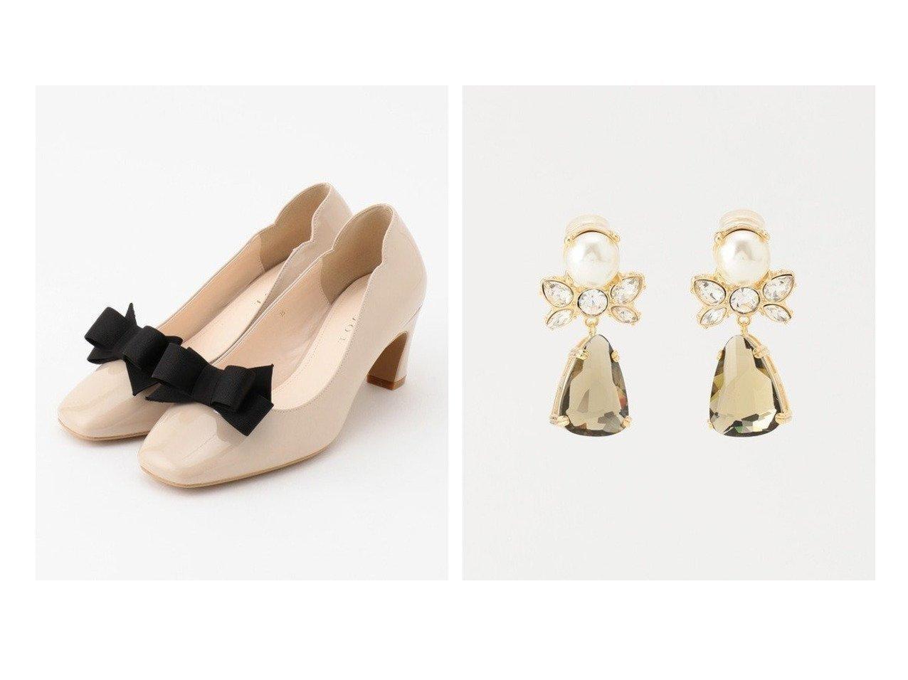 【TOCCA/トッカ】のDROPRIBBON EARRINGS イヤリング&CLIP RIBBON PUMPS パンプス TOCCAのおすすめ!人気、トレンド・レディースファッションの通販  おすすめで人気の流行・トレンド、ファッションの通販商品 メンズファッション・キッズファッション・インテリア・家具・レディースファッション・服の通販 founy(ファニー) https://founy.com/ ファッション Fashion レディースファッション WOMEN ジュエリー Jewelry リング Rings イヤリング Earrings 送料無料 Free Shipping 2021年 2021 2021 春夏 S/S SS Spring/Summer 2021 S/S 春夏 SS Spring/Summer エナメル エレガント クッション シンプル スエード フォルム モダン モチーフ リボン リュクス 人気 定番 Standard アンティーク イヤリング ストーン パール ロマンティック  ID:crp329100000017774