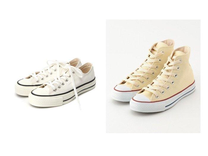 【SHARE PARK/シェアパーク】の〈CONVERSE〉CANVAS ALL STAR HI&【CONVERSE/コンバース】のCANVAS ALL STAR J OX スニーカー CONVERSEのおすすめ!人気、トレンド・レディースファッションの通販  おすすめファッション通販アイテム レディースファッション・服の通販 founy(ファニー) ファッション Fashion レディースファッション WOMEN NEW・新作・新着・新入荷 New Arrivals 2021年 2021 2021 春夏 S/S SS Spring/Summer 2021 S/S 春夏 SS Spring/Summer キャンバス シューズ スニーカー スリッポン ベーシック 人気 定番 Standard 春 Spring ラバー 送料無料 Free Shipping  ID:crp329100000017780