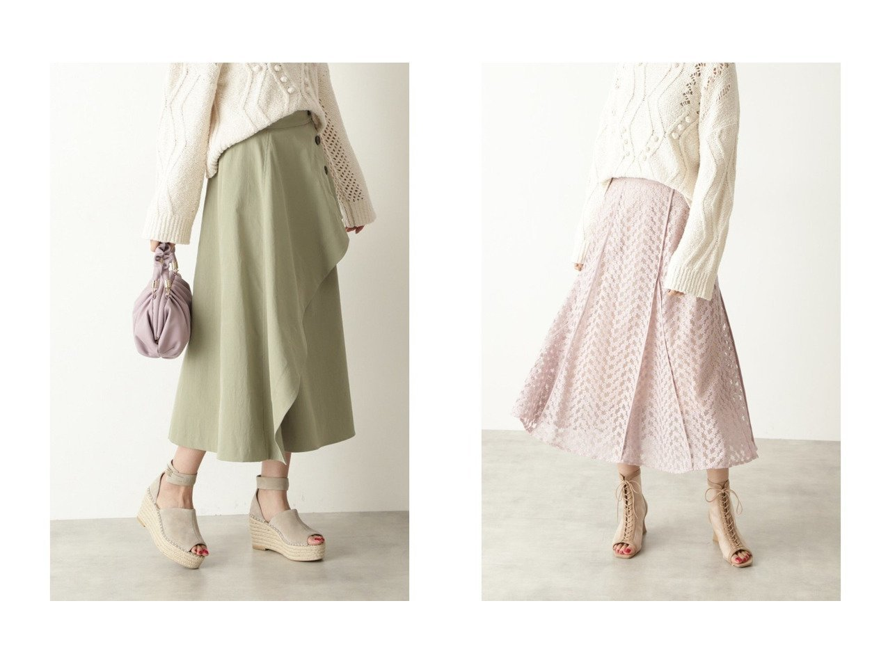 【JILLSTUART/ジルスチュアート】のロビンスカート&ミーシャスカート JILLSTUARTのおすすめ!人気、トレンド・レディースファッションの通販  おすすめで人気の流行・トレンド、ファッションの通販商品 メンズファッション・キッズファッション・インテリア・家具・レディースファッション・服の通販 founy(ファニー) https://founy.com/ ファッション Fashion レディースファッション WOMEN スカート Skirt NEW・新作・新着・新入荷 New Arrivals フレア ミドル ロング 再入荷 Restock/Back in Stock/Re Arrival |ID:crp329100000017806