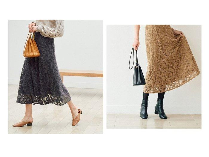 【ROPE' PICNIC/ロペピクニック】の【emur】モールレースマーメイドスカート ROPEのおすすめ!人気、トレンド・レディースファッションの通販  おすすめファッション通販アイテム インテリア・キッズ・メンズ・レディースファッション・服の通販 founy(ファニー) https://founy.com/ ファッション Fashion レディースファッション WOMEN スカート Skirt スウェット バランス パーカー プレミアム ポケット レース ロング |ID:crp329100000017840