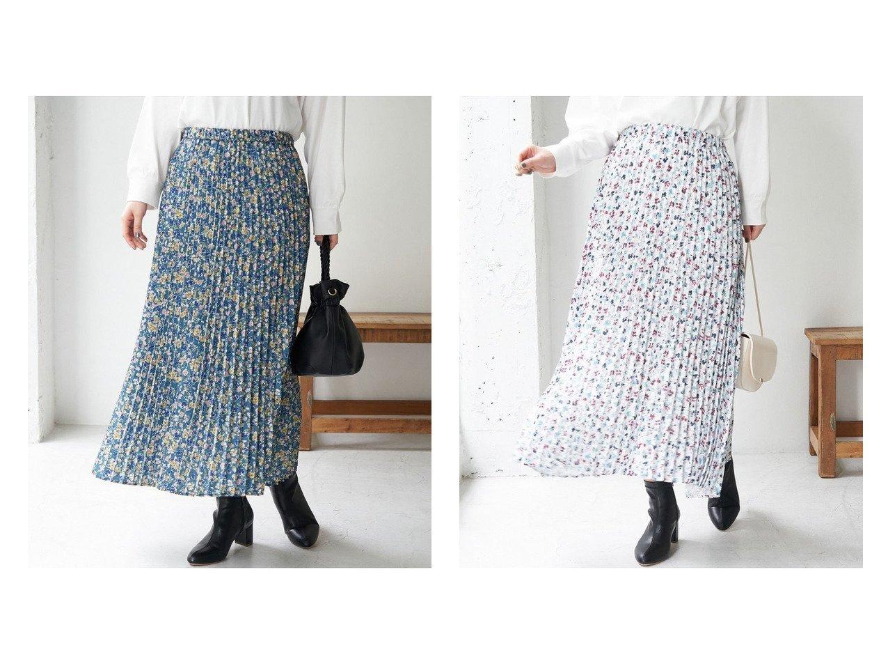 【ROPE' PICNIC/ロペピクニック】のフラワープリントプリーツスカート ROPEのおすすめ!人気、トレンド・レディースファッションの通販  おすすめで人気の流行・トレンド、ファッションの通販商品 メンズファッション・キッズファッション・インテリア・家具・レディースファッション・服の通販 founy(ファニー) https://founy.com/ ファッション Fashion レディースファッション WOMEN スカート Skirt プリーツスカート Pleated Skirts ギャザー タイツ フラワー プリント プリーツ ポケット リラックス ロング 冬 Winter 春 Spring 秋 Autumn/Fall |ID:crp329100000017850