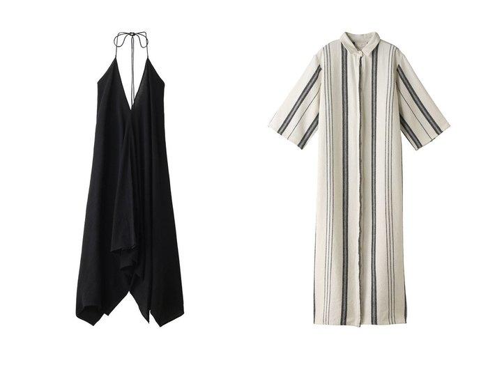 【Chaos/カオス】の【SEEALL】ロングシャツドレス&【CARAVANA】DRESS Chaosのおすすめ!人気、トレンド・レディースファッションの通販 おすすめファッション通販アイテム レディースファッション・服の通販 founy(ファニー) ファッション Fashion レディースファッション WOMEN ワンピース Dress ドレス Party Dresses イレギュラーヘム パーティ リボン ロング 再入荷 Restock/Back in Stock/Re Arrival ストライプ ドレス 今季 定番 Standard 羽織 |ID:crp329100000018002