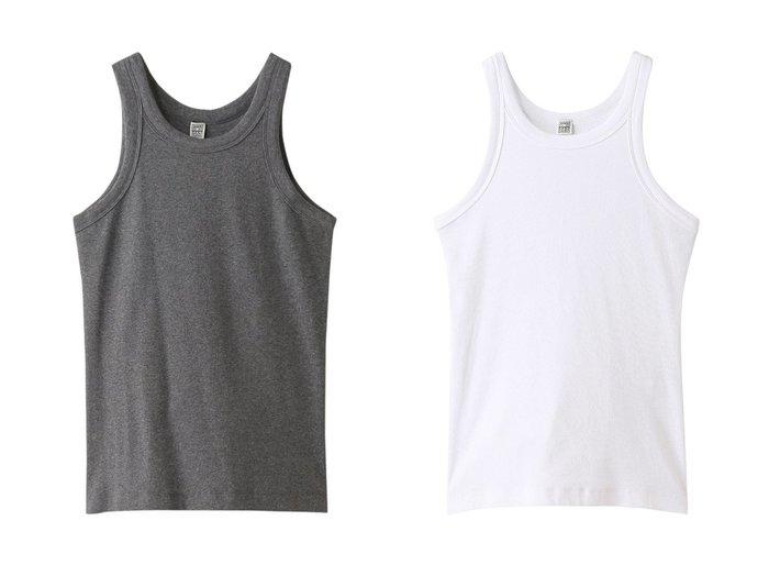 【Chaos/カオス】の【toteme】 RIB TANK Chaosのおすすめ!人気、トレンド・レディースファッションの通販 おすすめファッション通販アイテム レディースファッション・服の通販 founy(ファニー) ファッション Fashion レディースファッション WOMEN トップス Tops Tshirt キャミソール / ノースリーブ No Sleeves シャツ/ブラウス Shirts Blouses ロング / Tシャツ T-Shirts カットソー Cut and Sewn キャミソール シンプル タンク フィット ベーシック 再入荷 Restock/Back in Stock/Re Arrival |ID:crp329100000018005