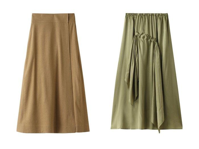 【Chaos/カオス】のCRリネンシルクラップスカート&【BASERANGE】 スカート Chaosのおすすめ!人気、トレンド・レディースファッションの通販 おすすめファッション通販アイテム レディースファッション・服の通販 founy(ファニー) ファッション Fashion レディースファッション WOMEN スカート Skirt ロングスカート Long Skirt シルク トレンド ベーシック ラップ リネン ロング 再入荷 Restock/Back in Stock/Re Arrival |ID:crp329100000018006