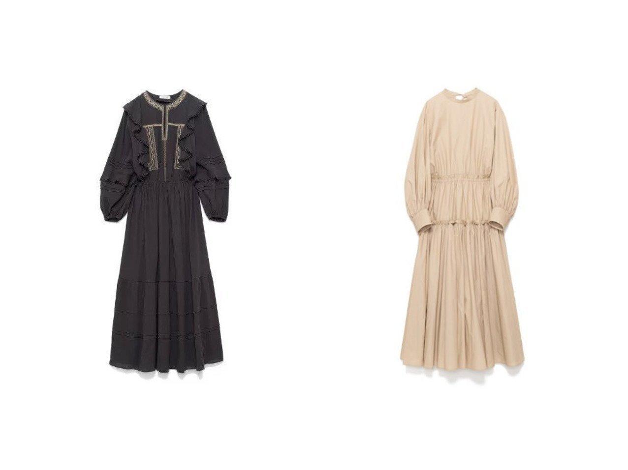 【CASA FLINE/カーサフライン】のカラーエンブロイダリードレス&ボリュームスリーブギャザードレス CASA FLINEのおすすめ!人気、トレンド・レディースファッションの通販 おすすめで人気の流行・トレンド、ファッションの通販商品 メンズファッション・キッズファッション・インテリア・家具・レディースファッション・服の通販 founy(ファニー) https://founy.com/ ファッション Fashion レディースファッション WOMEN ワンピース Dress ドレス Party Dresses カラフル ティアード フリル 長袖 |ID:crp329100000018051