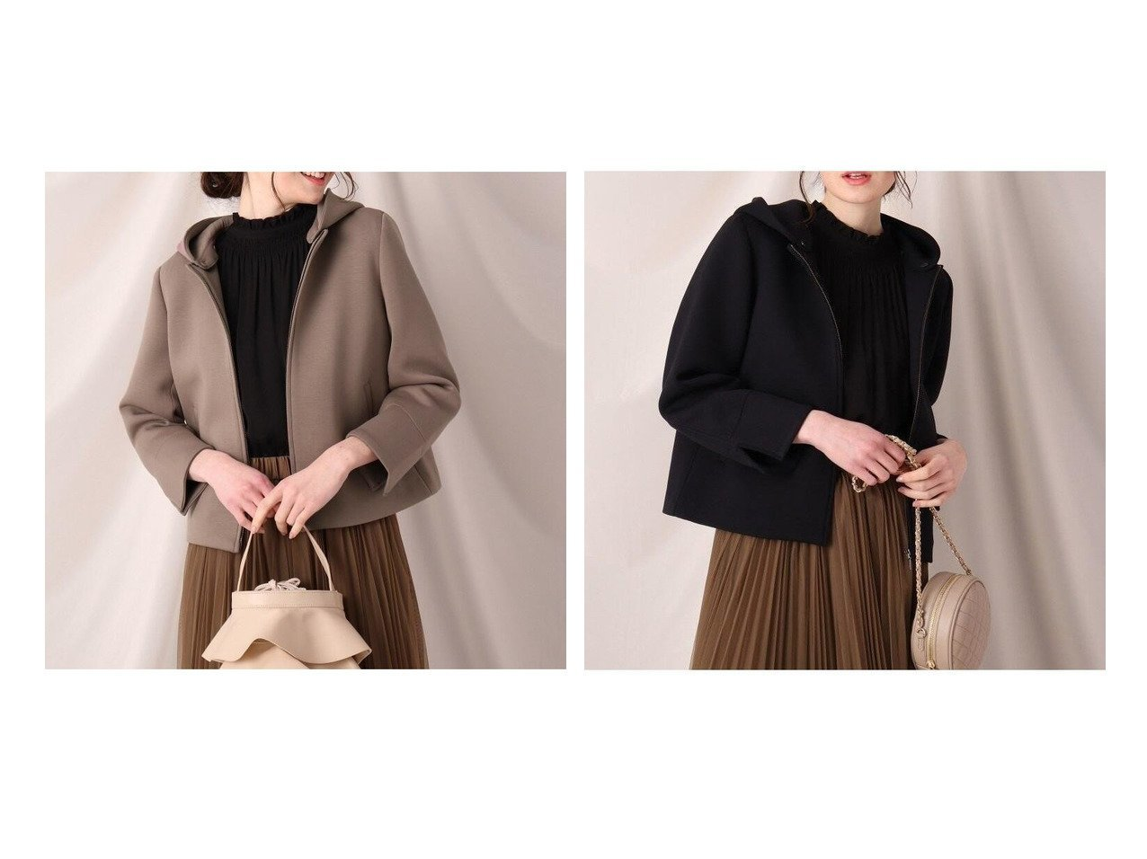 【Couture Brooch/クチュール ブローチ】のダンボール2WAYジップアップアウター Couture Broochのおすすめ!人気、トレンド・レディースファッションの通販 おすすめで人気の流行・トレンド、ファッションの通販商品 メンズファッション・キッズファッション・インテリア・家具・レディースファッション・服の通販 founy(ファニー) https://founy.com/ ファッション Fashion レディースファッション WOMEN アウター Coat Outerwear ブルゾン Blouson Jackets NEW・新作・新着・新入荷 New Arrivals ジャケット スリット フロント ブルゾン ポケット |ID:crp329100000018064