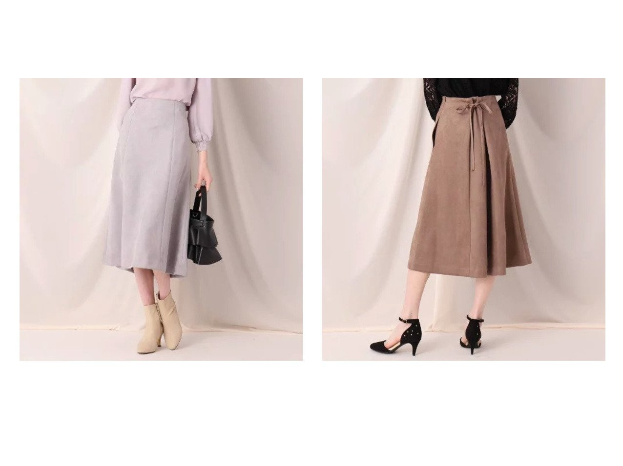【Couture Brooch/クチュール ブローチ】のフェイクスエードサス付きスカート Couture Broochのおすすめ!人気、トレンド・レディースファッションの通販 おすすめで人気の流行・トレンド、ファッションの通販商品 メンズファッション・キッズファッション・インテリア・家具・レディースファッション・服の通販 founy(ファニー) https://founy.com/ ファッション Fashion レディースファッション WOMEN スカート Skirt サスペンダー スウェード フェイクスウェード フェミニン ポケット マーメイド リボン |ID:crp329100000018066