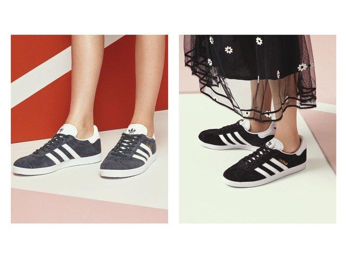 【adidas Originals/アディダス オリジナルス】のGAZELLE adidasのおすすめ!人気、トレンド・レディースファッションの通販 おすすめファッション通販アイテム レディースファッション・服の通販 founy(ファニー) ファッション Fashion レディースファッション WOMEN クラシック サッカー シューズ スニーカー スリッポン 人気 今季 定番 Standard |ID:crp329100000018228