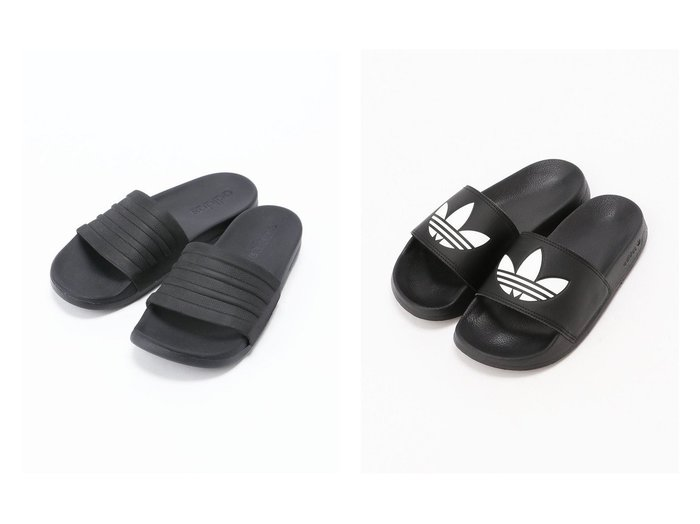 【adidas Originals/アディダス オリジナルス】のADILETTE LITE&【adidas Sports Performance / MEN/アディダス スポーツ パフォーマンス】のADILETTE CF MONO adidasのおすすめ!人気、トレンド・レディースファッションの通販 おすすめファッション通販アイテム レディースファッション・服の通販 founy(ファニー) ファッション Fashion メンズファッション MEN シューズ・靴 Shoes Men サンダル Sandals レディースファッション WOMEN サンダル シューズ ミュール レース リラックス |ID:crp329100000018229