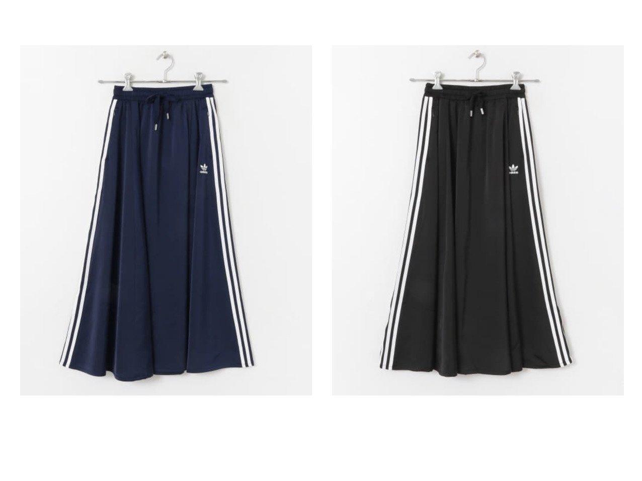 【Sonny Label / URBAN RESEARCH/サニーレーベル】のadidas ORIW LONG SATIN SKIRT adidasのおすすめ!人気、トレンド・レディースファッションの通販 おすすめで人気の流行・トレンド、ファッションの通販商品 メンズファッション・キッズファッション・インテリア・家具・レディースファッション・服の通販 founy(ファニー) https://founy.com/ ファッション Fashion レディースファッション WOMEN スカート Skirt Aライン/フレアスカート Flared A-Line Skirts エレガント ギャザー サテン ストレッチ スポーツ ドレープ フェミニン フレア |ID:crp329100000018234
