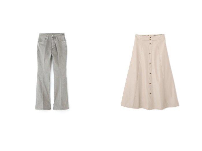 【FREE'S MART/フリーズマート】のフロントボタンフェイクレザースカート&《Sシリーズ対応商品》内スリットベルボトムデニムパンツ FREE'S MARTのおすすめ!人気、トレンド・レディースファッションの通販 おすすめファッション通販アイテム インテリア・キッズ・メンズ・レディースファッション・服の通販 founy(ファニー) https://founy.com/ ファッション Fashion レディースファッション WOMEN パンツ Pants デニムパンツ Denim Pants スカート Skirt ストレッチ スリット デニム フレア 2021年 2021 2021 春夏 S/S SS Spring/Summer 2021 S/S 春夏 SS Spring/Summer アンティーク スタンダード トレンド ドット フロント 今季 春 Spring |ID:crp329100000018250