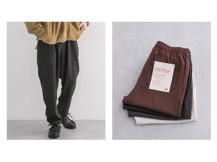 【URBAN RESEARCH / MEN/アーバンリサーチ】のWASHABLE WOOLLY CHEF PANTS 【MEN】おすすめ!人気トレンド・男性、メンズファッションの通販 おすすめファッション通販アイテム レディースファッション・服の通販 founy(ファニー) ファッション Fashion メンズファッション MEN ボトムス Bottoms Men 2020年 2020 2020-2021 秋冬 A/W AW Autumn/Winter / FW Fall-Winter 2020-2021 A/W 秋冬 AW Autumn/Winter / FW Fall-Winter アンクル ジーンズ スタイリッシュ ポケット 人気 |ID:crp329100000018265