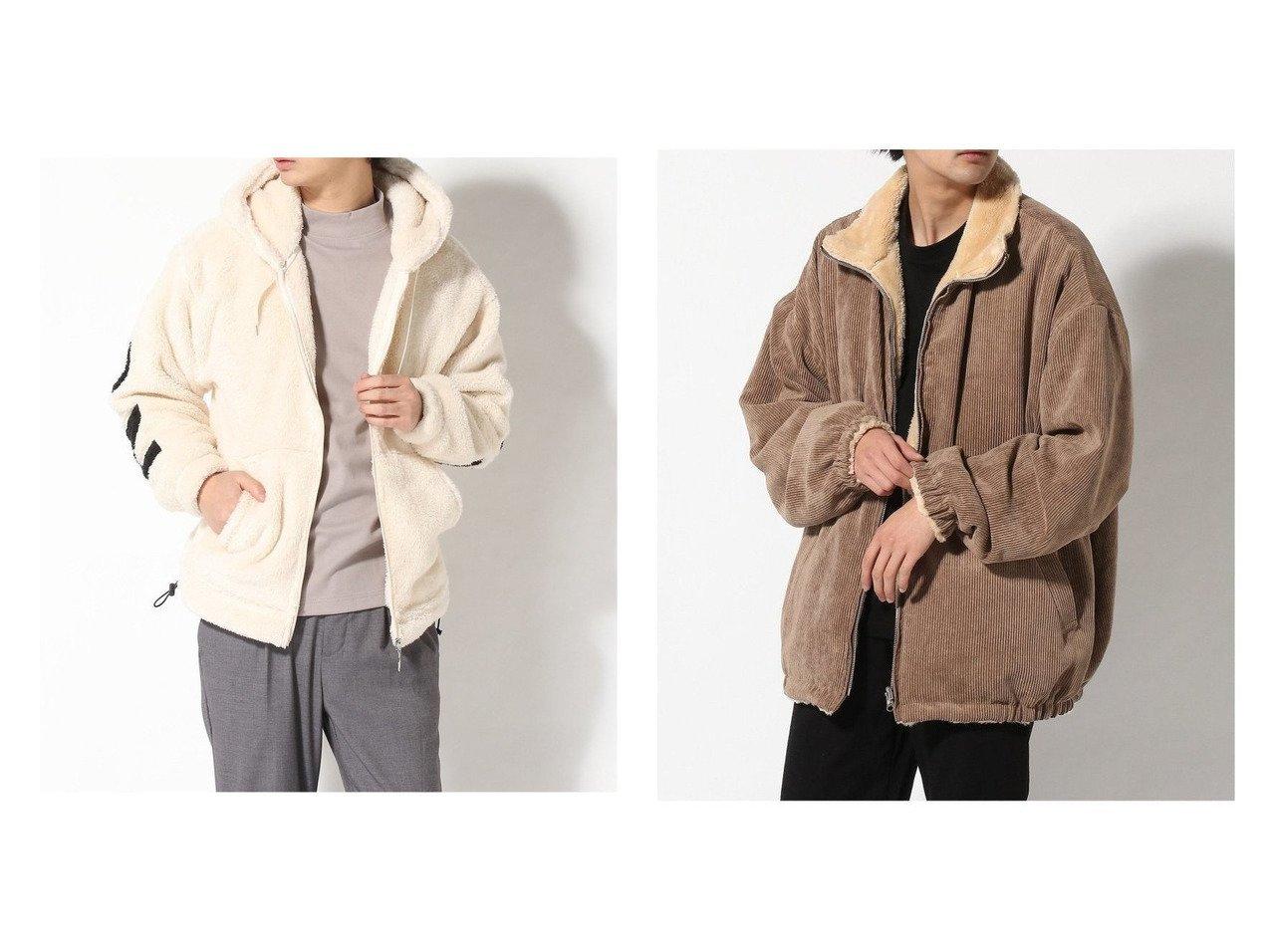 【WEGO / MEN/ウィゴー】のRVコーデュロイボアブルゾン&ストレートラインボアフーディー 【MEN】おすすめ!人気トレンド・男性、メンズファッションの通販 おすすめで人気の流行・トレンド、ファッションの通販商品 メンズファッション・キッズファッション・インテリア・家具・レディースファッション・服の通販 founy(ファニー) https://founy.com/ ファッション Fashion メンズファッション MEN トップス Tops Tshirt Men パーカ Sweats NEW・新作・新着・新入荷 New Arrivals カットソー パーカー モコモコ コーデュロイ 今季 ショルダー シンプル ジャケット トレンド ドロップ 人気 ブルゾン リバーシブル A/W 秋冬 AW Autumn/Winter / FW Fall-Winter |ID:crp329100000018283