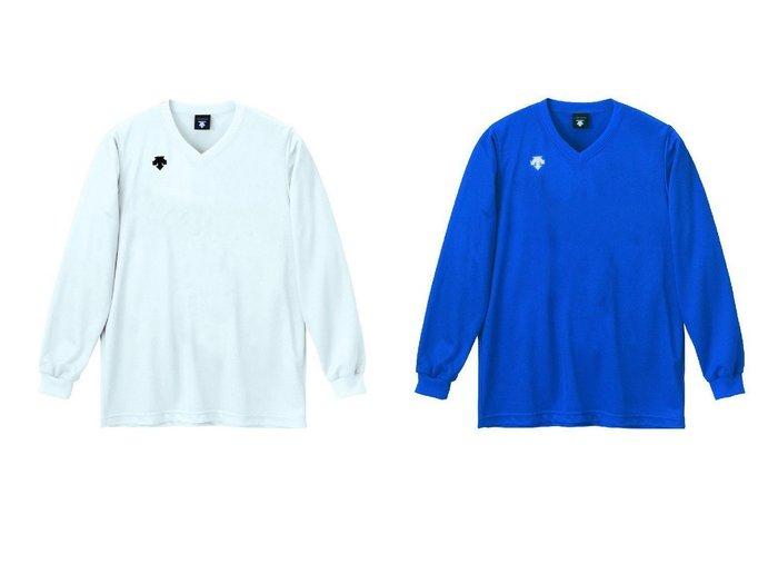 【DESCENTE / MEN/デサント】の【ユニセックス】【バレーボール】長袖ゲームシャツ 【MEN】おすすめ!人気トレンド・男性、メンズファッションの通販 おすすめファッション通販アイテム レディースファッション・服の通販 founy(ファニー) ファッション Fashion メンズファッション MEN トップス Tops Tshirt Men シャツ Shirts スポーツ 軽量 長袖 |ID:crp329100000018299