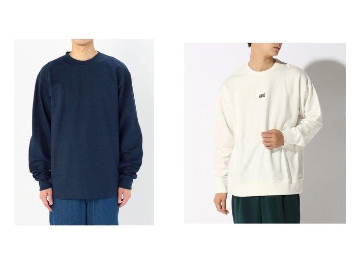 【HARE / MEN/ハレ】のHARELOGO-LS&【Bshop / MEN/ビショップ】の【CAMBER】ヘビーウェイト 長袖Tシャツ MEN 【MEN】おすすめ!人気トレンド・男性、メンズファッションの通販 おすすめファッション通販アイテム レディースファッション・服の通販 founy(ファニー) ファッション Fashion メンズファッション MEN トップス Tops Tshirt Men シャツ Shirts カットソー 長袖 スウェット フロント |ID:crp329100000018302