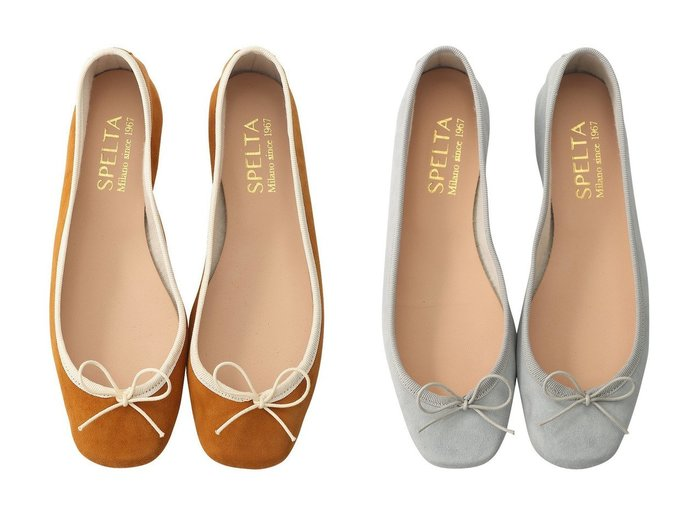 【SPELTA/スペルタ】の【ELLE SHOP限定】SOLE スエードバレエシューズ&SOLE スエードバレエシューズ SPELTAのおすすめ!人気、トレンド・レディースファッションの通販 おすすめファッション通販アイテム レディースファッション・服の通販 founy(ファニー) ファッション Fashion レディースファッション WOMEN 2021年 2021 2021 春夏 S/S SS Spring/Summer 2021 S/S 春夏 SS Spring/Summer なめらか シューズ スエード バレエ パイピング パーティ フラット リボン 定番 Standard 春 Spring |ID:crp329100000018314