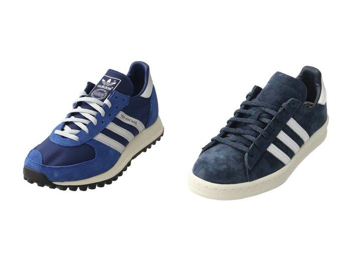 【JET/ジェット】の【adidas】TRX RUNNERVINTAGE&【adidas Originals】CAMPUS 80s JETのおすすめ!人気、トレンド・レディースファッションの通販 おすすめファッション通販アイテム レディースファッション・服の通販 founy(ファニー) ファッション Fashion レディースファッション WOMEN 2021年 2021 2021 春夏 S/S SS Spring/Summer 2021 S/S 春夏 SS Spring/Summer スニーカー 春 Spring |ID:crp329100000018327