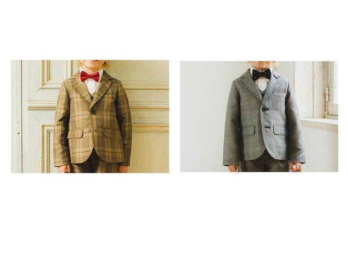 【branshes / KIDS/ブランシェス】の【キメ服】サージ/チェックジャケット KIDS】子供服のおすすめ!人気トレンド・キッズファッションの通販 おすすめファッション通販アイテム レディースファッション・服の通販 founy(ファニー) ファッション Fashion キッズファッション KIDS アウター Coat Outerwear Kids ジャケット セットアップ ダウン チェック ベスト 再入荷 Restock/Back in Stock/Re Arrival |ID:crp329100000018369