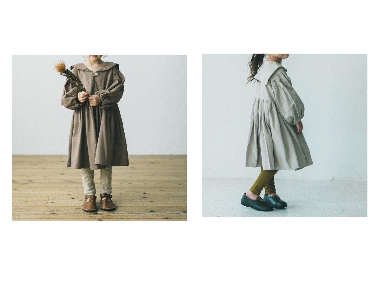 【riziere / KIDS/リジェール】のラウンドカラーウエストギャザーワンピース KIDS】子供服のおすすめ!人気トレンド・キッズファッションの通販 おすすめで人気の流行・トレンド、ファッションの通販商品 メンズファッション・キッズファッション・インテリア・家具・レディースファッション・服の通販 founy(ファニー) https://founy.com/ ファッション Fashion キッズファッション KIDS ワンピース Dress Kids ギャザー |ID:crp329100000018374