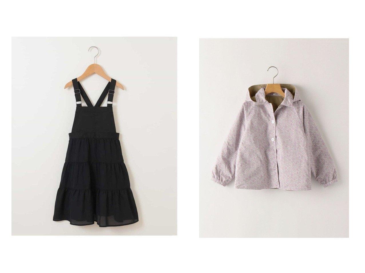 【SHIPS / KIDS/シップス】のSHIPS KIDS 撥水 リバーシブル リバティ フード コート(80~90cm)&【a.v.v / KIDS/アー ヴェー ヴェー】の140-150 ティアードジャンパースカート KIDS】子供服のおすすめ!人気トレンド・キッズファッションの通販 おすすめで人気の流行・トレンド、ファッションの通販商品 メンズファッション・キッズファッション・インテリア・家具・レディースファッション・服の通販 founy(ファニー) https://founy.com/ ファッション Fashion キッズファッション KIDS ワンピース Dress Kids アウター Coat Outerwear Kids インナー ガーリー サロペット シンプル ティアード トレンド 楽ちん アウトドア イラスト 春 Spring 秋 Autumn/Fall クラシック コレクション シルバー ジャケット タフタ ドット 定番 Standard 人気 フラワー ペーパー ポケット モノトーン 無地 リバーシブル ロンドン |ID:crp329100000018376