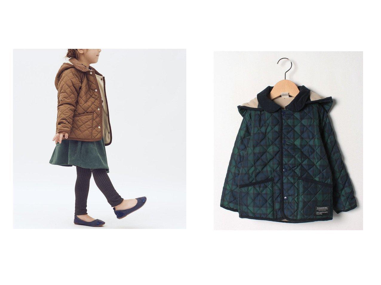 【RUGGEDWORKS / KIDS/ラゲッドワークス】のキルトジャケット KIDS】子供服のおすすめ!人気トレンド・キッズファッションの通販 おすすめで人気の流行・トレンド、ファッションの通販商品 メンズファッション・キッズファッション・インテリア・家具・レディースファッション・服の通販 founy(ファニー) https://founy.com/ ファッション Fashion キッズファッション KIDS アウター Coat Outerwear Kids キルティング キルト ジャケット |ID:crp329100000018393
