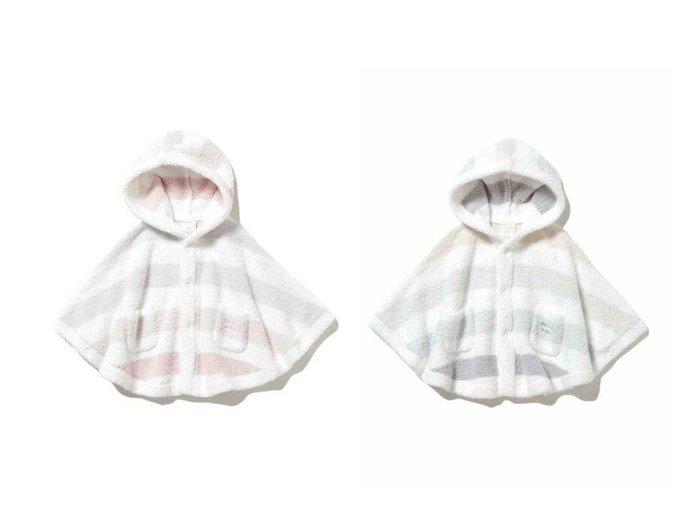 【gelato pique / KIDS/ジェラート ピケ】の【BABY】 ベビモコ 5ボーダー baby ポンチョ 【BABY】ベビー服のおすすめ!人気、キッズファッションの通販 おすすめファッション通販アイテム インテリア・キッズ・メンズ・レディースファッション・服の通販 founy(ファニー) https://founy.com/ ファッション Fashion キッズファッション KIDS トップス Tops Tees Kids 春 Spring カットソー ボーダー ポンチョ ロング ロンパース |ID:crp329100000018408