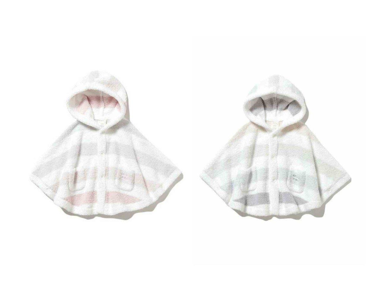 【gelato pique / KIDS/ジェラート ピケ】の【BABY】 ベビモコ 5ボーダー baby ポンチョ 【BABY】ベビー服のおすすめ!人気、キッズファッションの通販 おすすめで人気の流行・トレンド、ファッションの通販商品 メンズファッション・キッズファッション・インテリア・家具・レディースファッション・服の通販 founy(ファニー) https://founy.com/ ファッション Fashion キッズファッション KIDS トップス Tops Tees Kids 春 Spring カットソー ボーダー ポンチョ ロング ロンパース |ID:crp329100000018408