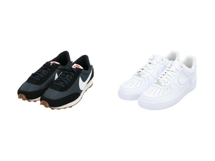 【NIKE / MEN/ナイキ】のウィメンズデイブレイク&Air Force1 07 【MEN】おすすめ!人気トレンド・男性、メンズファッションの通販 おすすめファッション通販アイテム インテリア・キッズ・メンズ・レディースファッション・服の通販 founy(ファニー) https://founy.com/ ファッション Fashion メンズファッション MEN シューズ・靴 Shoes Men スニーカー Sneakers NEW・新作・新着・新入荷 New Arrivals シューズ スニーカー スポーツ スリッポン フィット リボン レース |ID:crp329100000018415