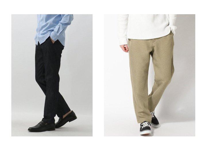 【GRAND PHASE / MEN/グランフェイズ】のGPポリデニムトラウザー&【niko and… / MEN/ニコアンド】のカルゼイージーPT 【MEN】おすすめ!人気トレンド・男性、メンズファッションの通販 おすすめ人気トレンドファッション通販アイテム 人気、トレンドファッション・服の通販 founy(ファニー)  ファッション Fashion メンズファッション MEN ボトムス Bottoms Men ジャケット ジーンズ ストレッチ スーツ セットアップ NEW・新作・新着・新入荷 New Arrivals 春 Spring |ID:crp329100000018417