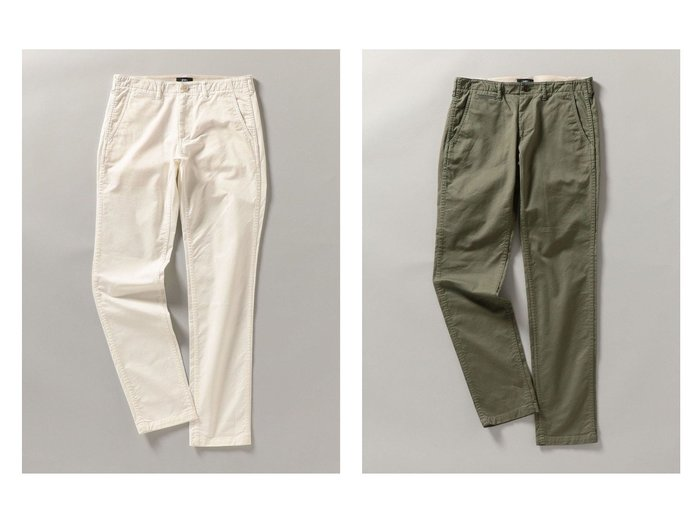 【SHIPS / MEN/シップス】のSHIPS japan quality カラー テーパード チノパンツ 【MEN】おすすめ!人気トレンド・男性、メンズファッションの通販 おすすめファッション通販アイテム インテリア・キッズ・メンズ・レディースファッション・服の通販 founy(ファニー) https://founy.com/ ファッション Fashion メンズファッション MEN ボトムス Bottoms Men ジーンズ ストレッチ ツイル テーパード ベーシック ポケット 人気 定番 Standard |ID:crp329100000018420