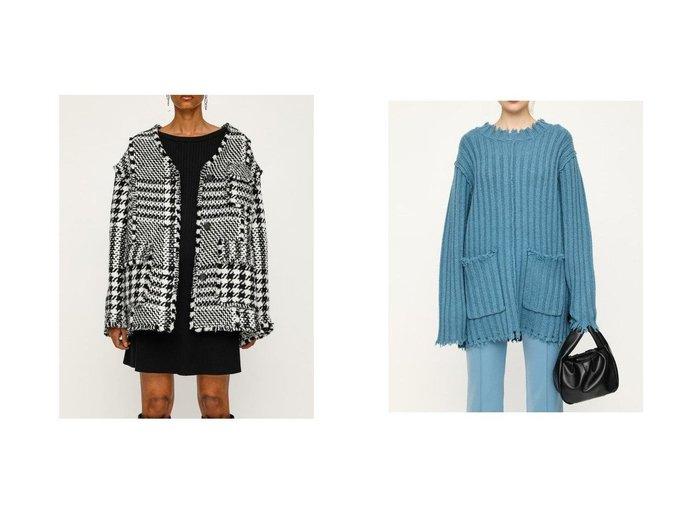 【SLY/スライ】のG FLARE ワンピース&DAMAGED LOOSE トップス SLYのおすすめ!人気、トレンド・レディースファッションの通販 おすすめファッション通販アイテム レディースファッション・服の通販 founy(ファニー) ファッション Fashion レディースファッション WOMEN ワンピース Dress トップス Tops Tshirt ニット Knit Tops フレア セーター ダメージ |ID:crp329100000018456