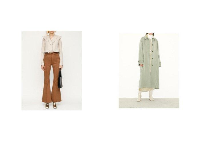 【SLY/スライ】のWASH ME HW PINTUCK FLARE PTーE CAM&SOUTIEN COLLAR コート SLYのおすすめ!人気、トレンド・レディースファッションの通販 おすすめファッション通販アイテム レディースファッション・服の通販 founy(ファニー) ファッション Fashion レディースファッション WOMEN アウター Coat Outerwear コート Coats 2021年 2021 2021 春夏 S/S SS Spring/Summer 2021 S/S 春夏 SS Spring/Summer センター デニム フレア 今季 春 Spring |ID:crp329100000018466