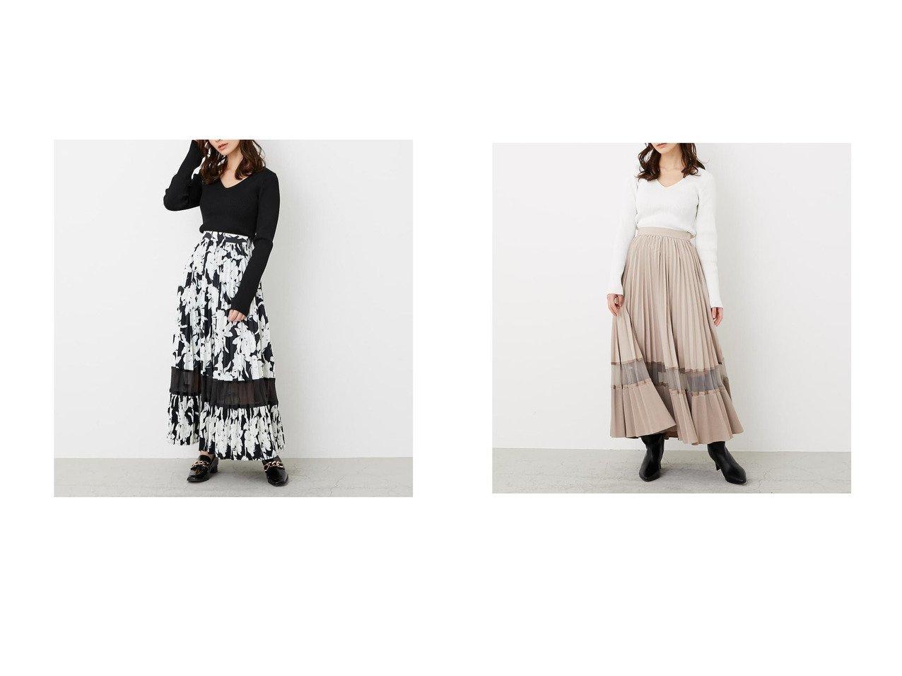 【rienda/リエンダ】のシアーボーダープリーツWフレアSK マルチ&シアーボーダープリーツWフレアSK SLYのおすすめ!人気、トレンド・レディースファッションの通販 おすすめで人気の流行・トレンド、ファッションの通販商品 メンズファッション・キッズファッション・インテリア・家具・レディースファッション・服の通販 founy(ファニー) https://founy.com/ ファッション Fashion レディースファッション WOMEN スカート Skirt 2021年 2021 2021 春夏 S/S SS Spring/Summer 2021 S/S 春夏 SS Spring/Summer オーガンジー フレア プリーツ 春 Spring  ID:crp329100000018472