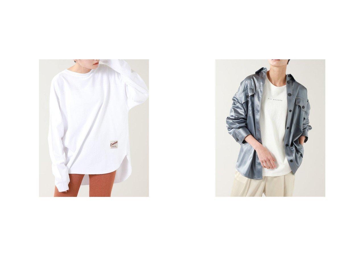 【ROSE BUD/ローズバッド】のバックギャザーデザインロンT&レザーライクサテンジャケット ROSE BUDのおすすめ!人気、トレンド・レディースファッションの通販 おすすめで人気の流行・トレンド、ファッションの通販商品 メンズファッション・キッズファッション・インテリア・家具・レディースファッション・服の通販 founy(ファニー) https://founy.com/ ファッション Fashion レディースファッション WOMEN トップス Tops Tshirt ロング / Tシャツ T-Shirts バッグ Bag アウター Coat Outerwear ジャケット Jackets ヴィンテージ 春 Spring ギャザー モチーフ 2021年 2021 S/S 春夏 SS Spring/Summer 2021 春夏 S/S SS Spring/Summer 2021 |ID:crp329100000018483
