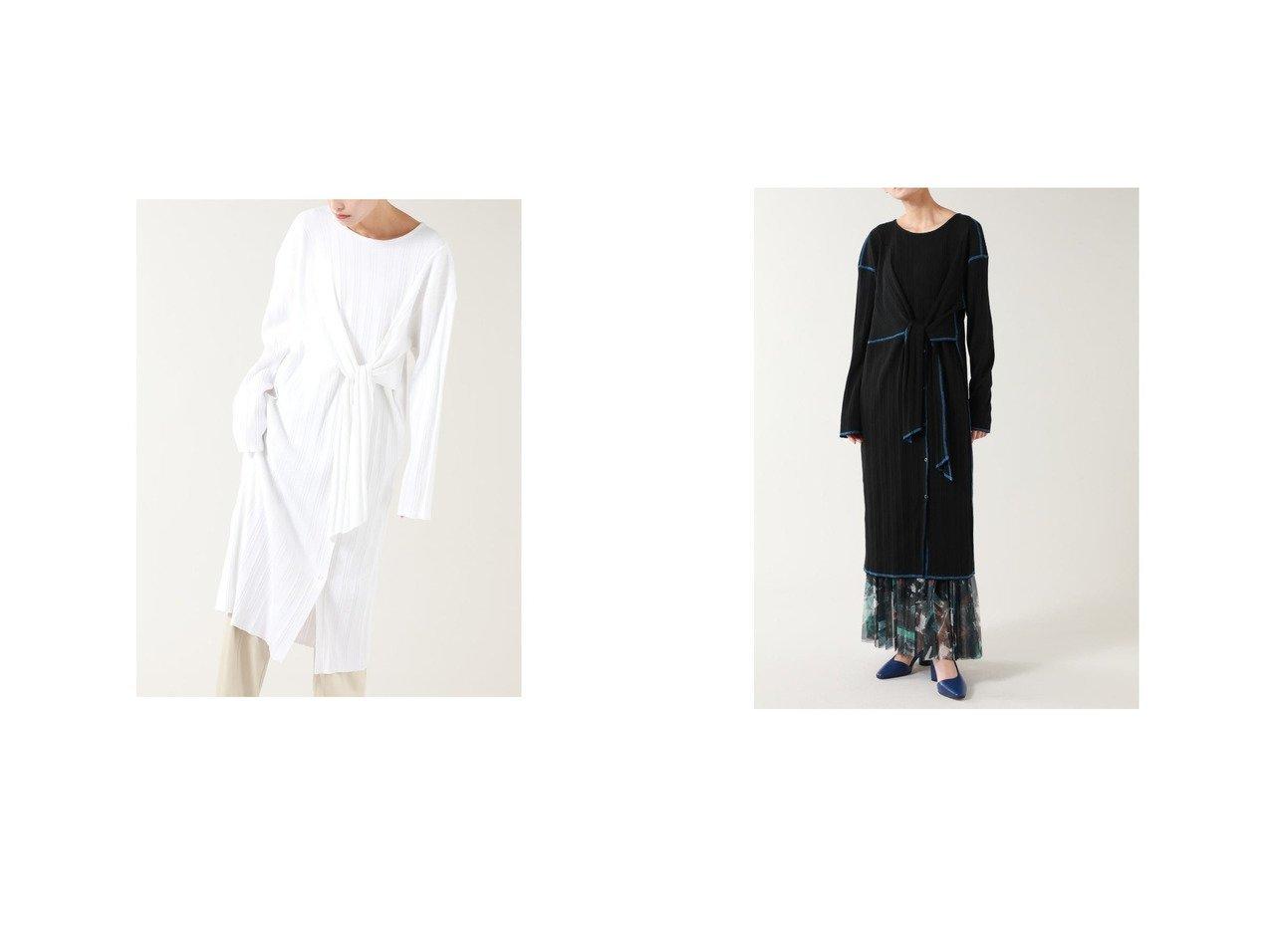 【ROSE BUD/ローズバッド】のフロントノットリブワンピース ROSE BUDのおすすめ!人気、トレンド・レディースファッションの通販 おすすめで人気の流行・トレンド、ファッションの通販商品 メンズファッション・キッズファッション・インテリア・家具・レディースファッション・服の通販 founy(ファニー) https://founy.com/ ファッション Fashion レディースファッション WOMEN ワンピース Dress 春 Spring シンプル スタンダード スリット トリミング ドット ドレープ フロント プリーツ ボトム ロング 2021年 2021 S/S 春夏 SS Spring/Summer 2021 春夏 S/S SS Spring/Summer 2021 |ID:crp329100000018484