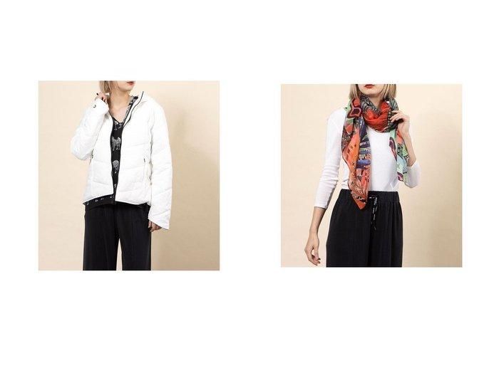 【Desigual/デシグアル】のスカーフ FOU PITAHAYA&パッド入り半オーバーコート PADDDED REGULAR CO MANDALA Desigualのおすすめ!人気、トレンド・レディースファッションの通販 おすすめ人気トレンドファッション通販アイテム 人気、トレンドファッション・服の通販 founy(ファニー) ファッション Fashion レディースファッション WOMEN アウター Coat Outerwear コート Coats 2021年 2021 2021 春夏 S/S SS Spring/Summer 2021 S/S 春夏 SS Spring/Summer 春 Spring 防寒 スカーフ |ID:crp329100000018491