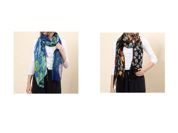 【Desigual/デシグアル】のスカーフ GALACTIC HYPNOTIC&スカーフ BUTTERFLY GALACTIC Desigualのおすすめ!人気、トレンド・レディースファッションの通販 おすすめ人気トレンドファッション通販アイテム 人気、トレンドファッション・服の通販 founy(ファニー) ファッション Fashion レディースファッション WOMEN 2021年 2021 2021 春夏 S/S SS Spring/Summer 2021 S/S 春夏 SS Spring/Summer スカーフ 春 Spring |ID:crp329100000018492
