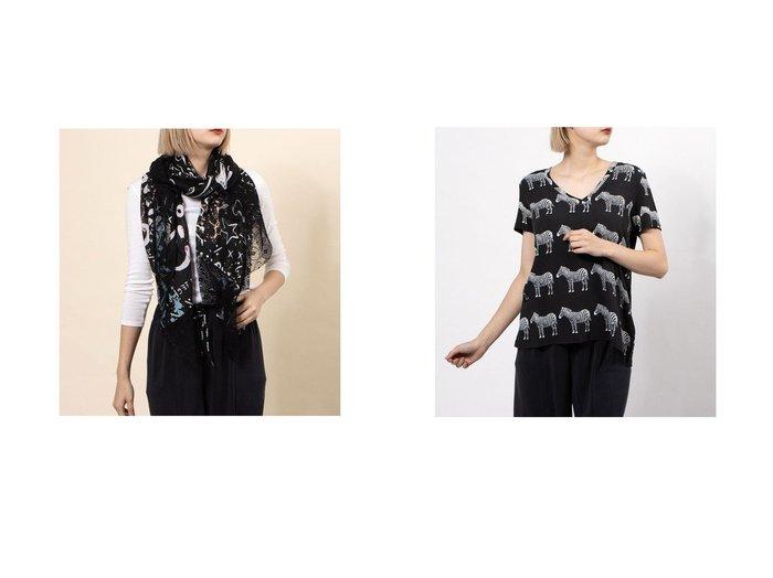 【Desigual/デシグアル】のスカーフ JALEO&Tシャツ半袖 BOKAN Desigualのおすすめ!人気、トレンド・レディースファッションの通販 おすすめ人気トレンドファッション通販アイテム 人気、トレンドファッション・服の通販 founy(ファニー) ファッション Fashion レディースファッション WOMEN トップス Tops Tshirt シャツ/ブラウス Shirts Blouses ロング / Tシャツ T-Shirts 2021年 2021 2021 春夏 S/S SS Spring/Summer 2021 S/S 春夏 SS Spring/Summer スカーフ 春 Spring |ID:crp329100000018493