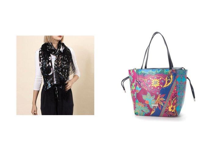 【Desigual/デシグアル】のスカーフ JALEO&ショッピングバッグ BOLS PINK BOHO NORWICH Desigualのおすすめ!人気、トレンド・レディースファッションの通販 おすすめファッション通販アイテム レディースファッション・服の通販 founy(ファニー) ファッション Fashion レディースファッション WOMEN 2021年 2021 2021 春夏 S/S SS Spring/Summer 2021 S/S 春夏 SS Spring/Summer スカーフ 春 Spring |ID:crp329100000018495